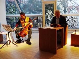 Praxistag Lesung mit Cello